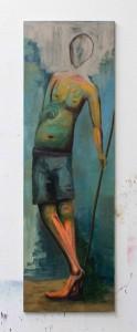 Acryl auf Leinwand 60x210cm